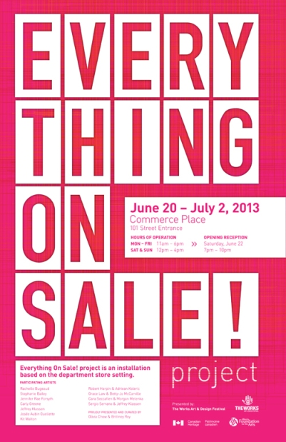 Everything on Sale-Poster